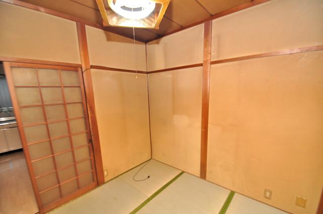 ビーフォレスト尼崎KANNAMI 6帖の和室が2間あるので、とてもゆったりとしていますよ。