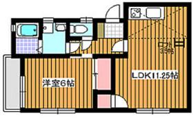 下赤塚駅 徒歩15分2階Fの間取り画像