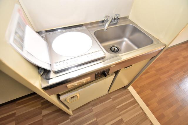 シャトーユキ ピカピカのキッチンはお料理の時間が楽しくなりますね。