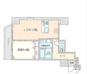 CAVE YUSHIMA6階Fの間取り画像