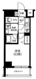 アイル横浜ノース2階Fの間取り画像