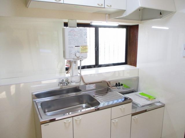芦川平屋戸建て貸家キッチン