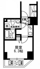 KDXレジデンス文京湯島2階Fの間取り画像