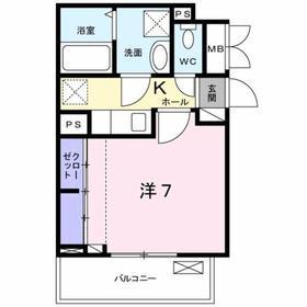 豊田駅 徒歩14分2階Fの間取り画像