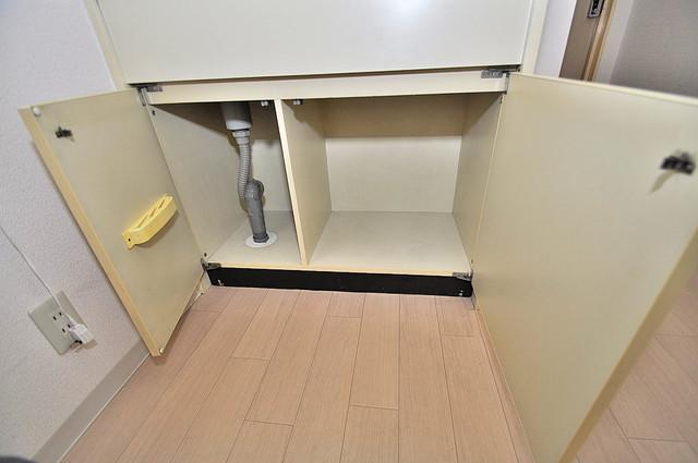 プルシャン今里 各所に収納があるので、お部屋がすっきり片付きますね。