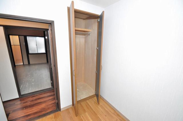 エフェクティブハウス布施 もちろん収納スペースも確保。お部屋がスッキリ片付きますね。