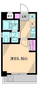 ヴィクトワール3階Fの間取り画像