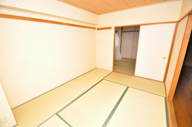 パレグリシーヌ もうひとつのくつろぎの空間、和室も忘れてません。