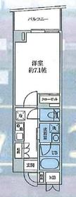 ROX参番館5階Fの間取り画像