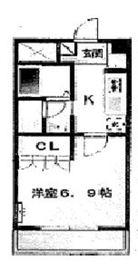 ウェルネスⅠ5階Fの間取り画像