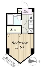 アーバンヒルズ多摩永山3階Fの間取り画像