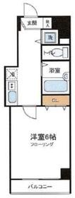 小伝馬町駅 徒歩4分8階Fの間取り画像