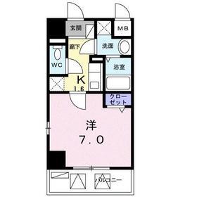 吉野町駅 徒歩5分4階Fの間取り画像