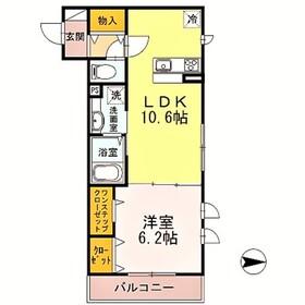 向ヶ丘遊園駅 徒歩7分3階Fの間取り画像