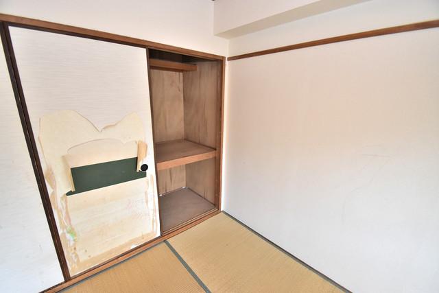 湊川マンション もちろん収納スペースも確保。いたれりつくせりのお部屋です。