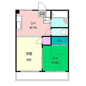センチュリーハイム桂台2階Fの間取り画像