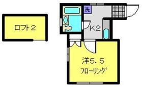 ジュネス永田2階Fの間取り画像