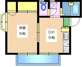 Q'PLEX2階Fの間取り画像