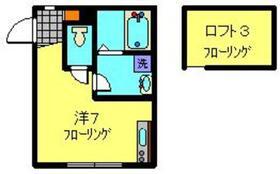 ベリッシマ1階Fの間取り画像