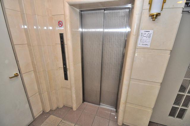 ジオ・グランデ高井田 嬉しい事にエレベーターがあります。重い荷物を持っていても安心