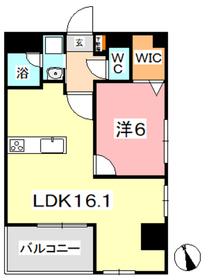 FORTUNA老松4階Fの間取り画像