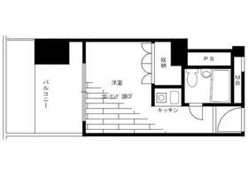 ライオンズマンション歌舞伎町6階Fの間取り画像