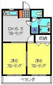 関内駅 バス19分「最戸橋」徒歩5分2階Fの間取り画像