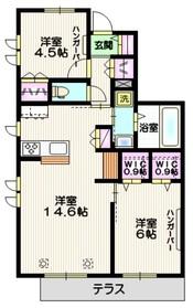 (仮称)赤塚6丁目マンション・fufu1階Fの間取り画像