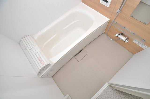 ma.maison(マ.メゾン) 広めのお風呂は一日の疲れを癒してくれます。