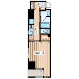 エルドシック横濱8階Fの間取り画像