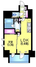 アトラス秋葉原カルモード12階Fの間取り画像