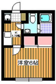 地下鉄成増駅 徒歩8分1階Fの間取り画像