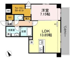 代々木八幡駅 徒歩6分1階Fの間取り画像