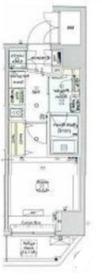 ベルグレードYS7階Fの間取り画像