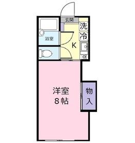 メゾンドセイコー1階Fの間取り画像