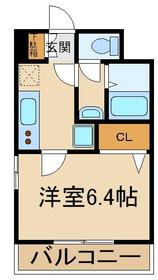 西高島平駅 徒歩31分3階Fの間取り画像
