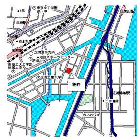 パークタワー芝浦ベイワード アーバンウイング案内図