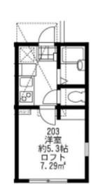上大岡駅 徒歩11分2階Fの間取り画像
