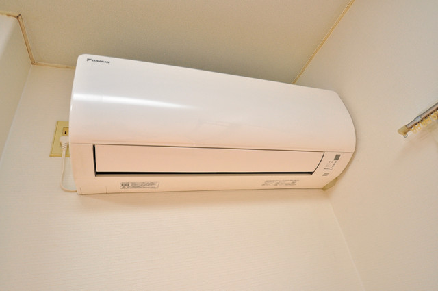 レガーレ布施 エアコンが最初からついているなんて、本当にうれしい限りです。