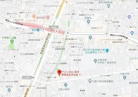 椎名町駅 徒歩10分案内図