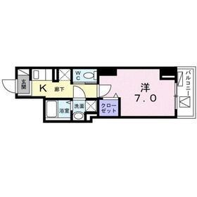 セレーノ トウキョウ7階Fの間取り画像