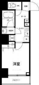 リブリ・ラピスラズリ川崎6階Fの間取り画像