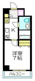 東池袋駅 徒歩4分1階Fの間取り画像