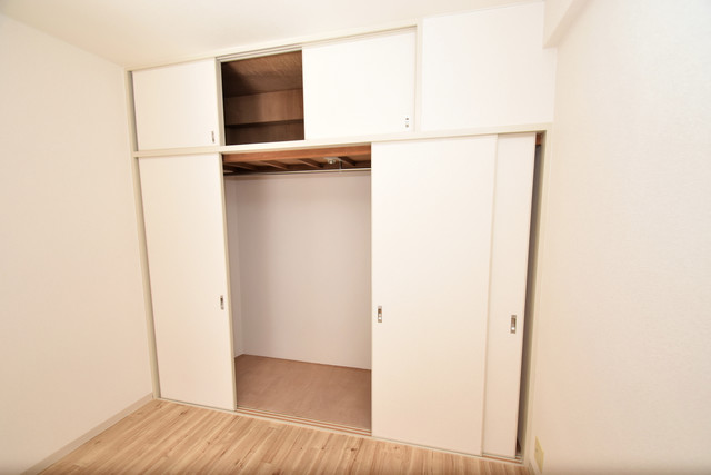 ファミール上小阪 もちろん収納スペースも確保。いたれりつくせりのお部屋です。