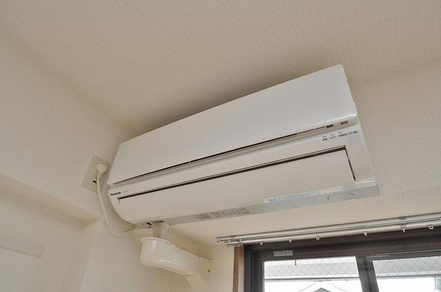 サイレストSB エアコンが最初からついているなんて、本当に助かりますね。