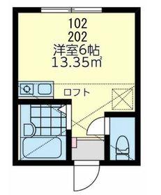 メメント・モリ桜木町1階Fの間取り画像