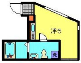 エルシア七島町2階Fの間取り画像