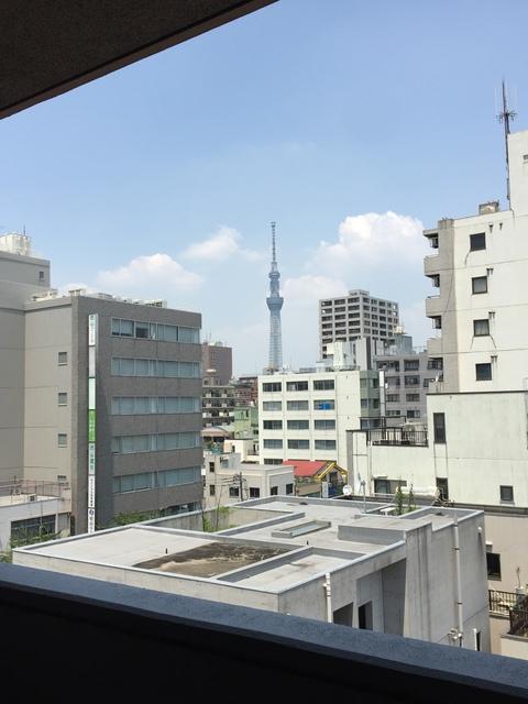 ライズコート東京イースト景色