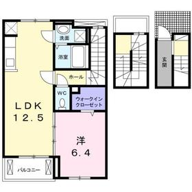 北八王子駅 徒歩9分3階Fの間取り画像