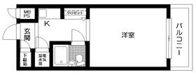 日神パレス錦糸町8階Fの間取り画像